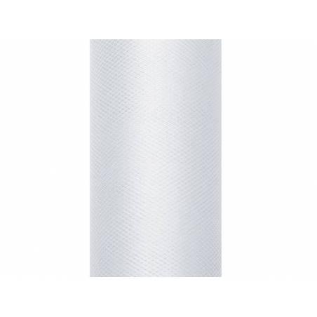 Tulle Uni gris clair 0.3 x 9m