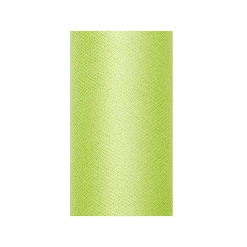 Tulle Uni vert clair 0.3 x 9m