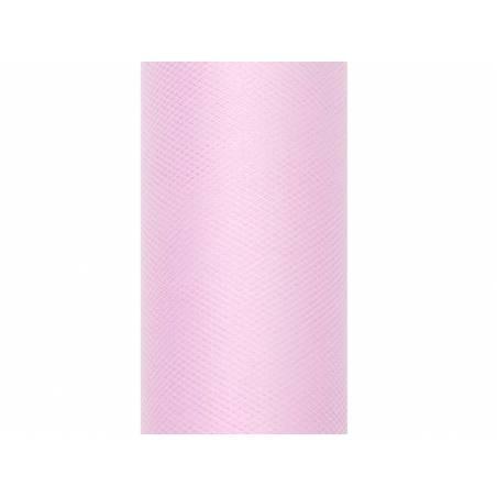 Tulle Uni rose clair 0.5 x 9m