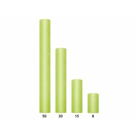 Tulle Uni vert clair 0.5 x 9m