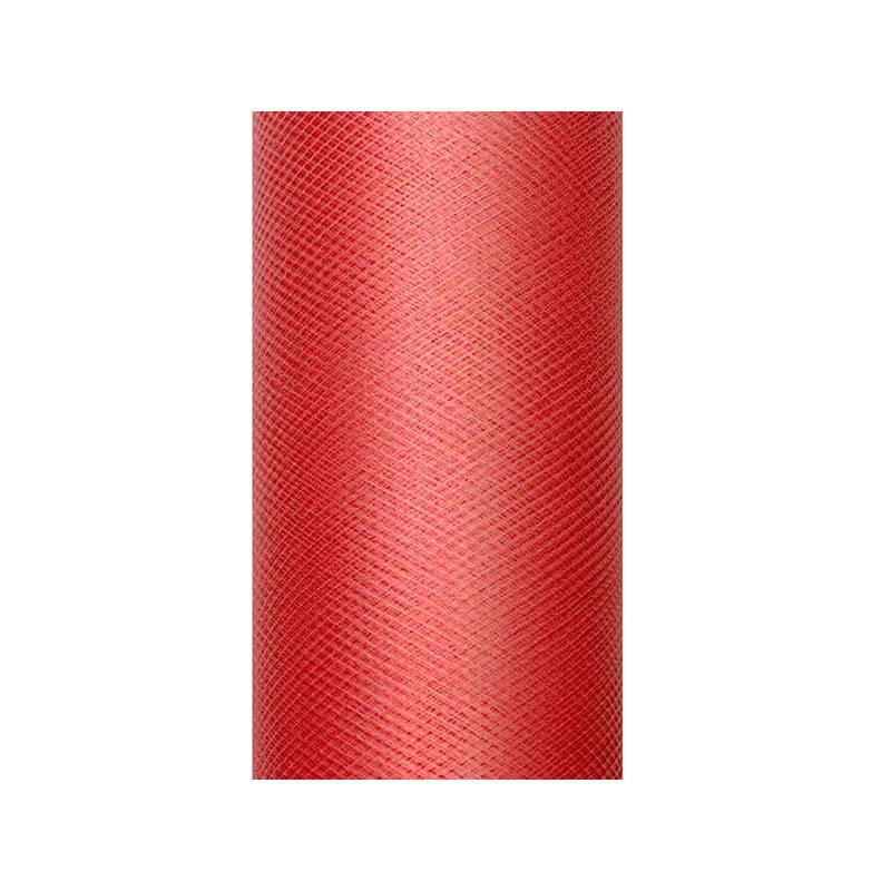 Tulle Uni rouge 0.08 x 20m