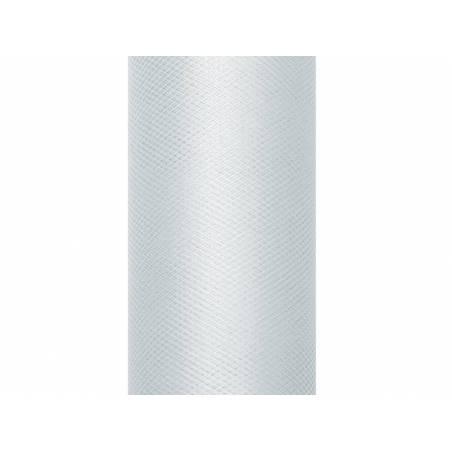 Tulle Uni gris 0.8 x 9m