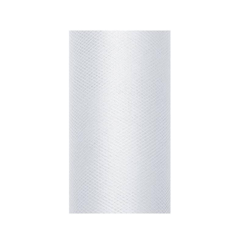 Tulle Uni gris clair 0.8 x 9m