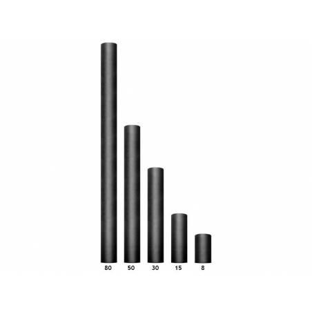 Tulle Uni noir 0.08 x 20m