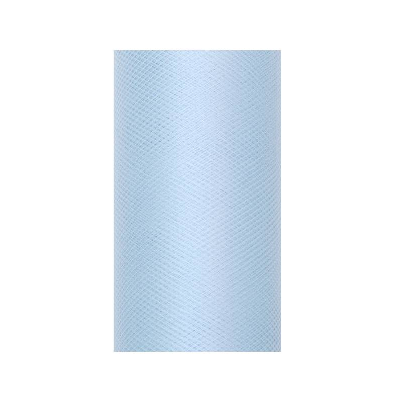 Tulle Uni bleu ciel 0.08 x 20m