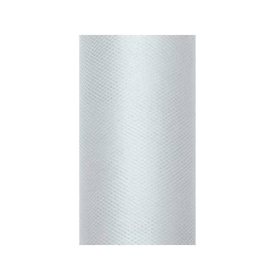 Tulle Uni gris 0.08 x 20m