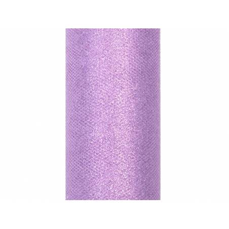Tulle Glittery lavender 015 x 9m