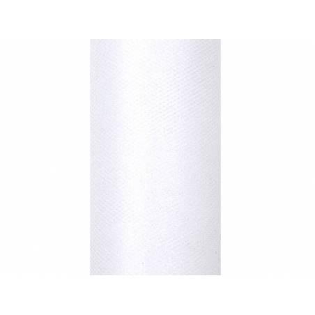 Tulle Glittery blanc 015 x 9m