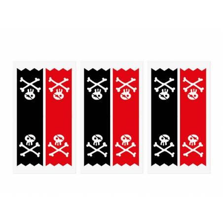 Pochettes Pirates kraft 8x18x6cm