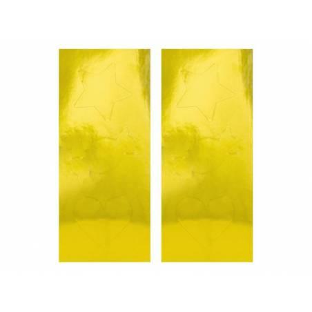 Pochettes délicieuses jaune clair 13x14cm
