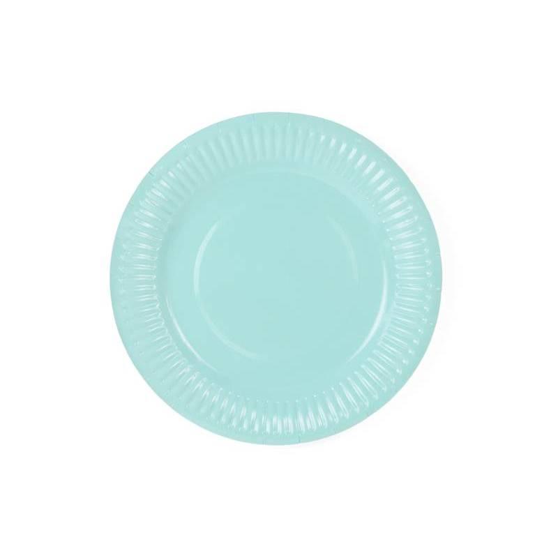 Assiettes Aloha turquoise 18 cm
