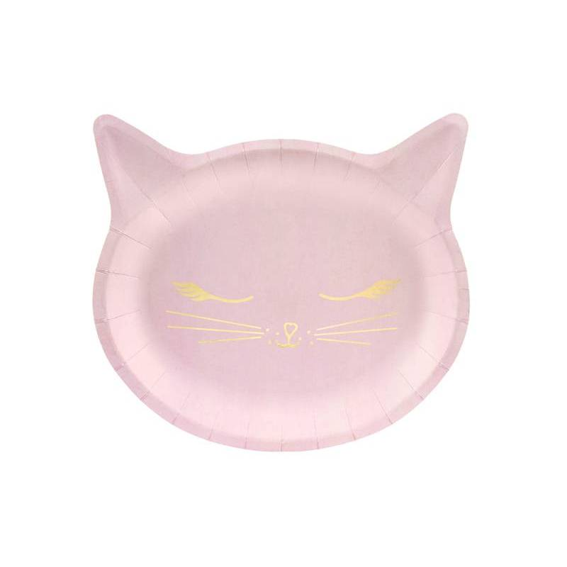 Assiettes Cat 22x20cm