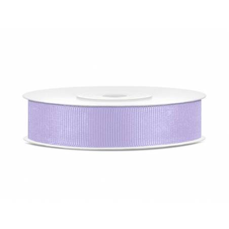 Ruban gros-grain lilas 15mm / 25m