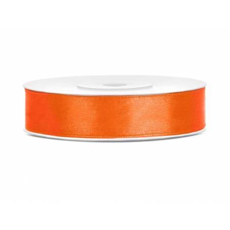 Ruban Satin orange 12mm / 25m