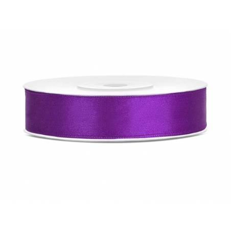 Ruban Satin violet 12mm / 25m