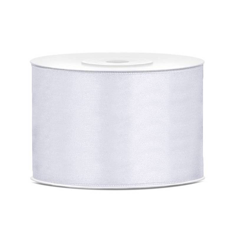 Ruban Satin blanc 50mm / 25m