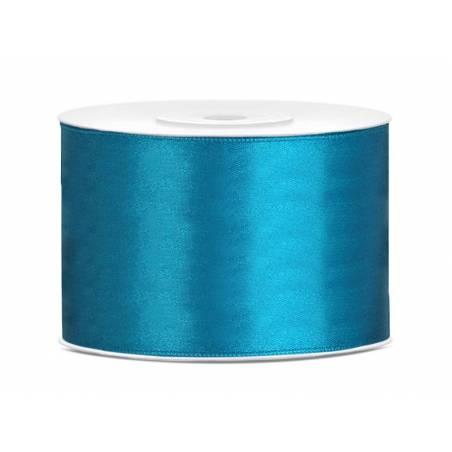 Ruban Satin turquoise 50mm / 25m