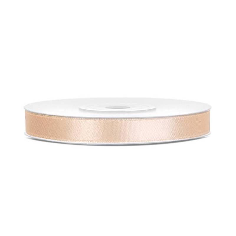Ruban Satin crème 6mm / 25m