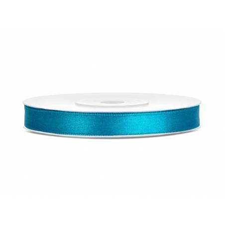 Ruban Satin turquoise 6mm / 25m