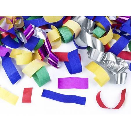 Confettis et banderoles mélange 40cm