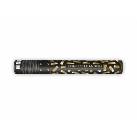Canon à confettis or 40cm