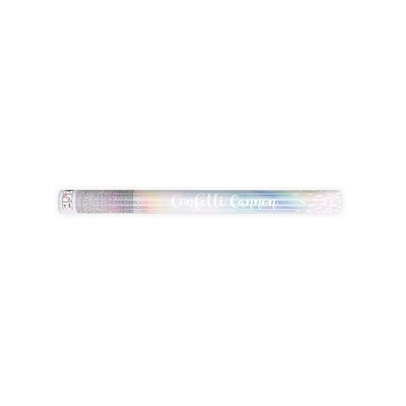 Canon à confettis irisé 60cm