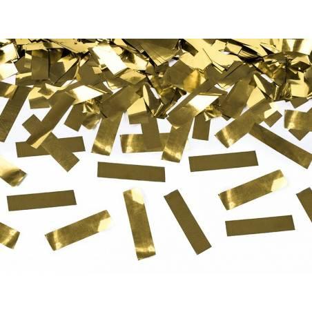 Canon à confettis doré 80cm