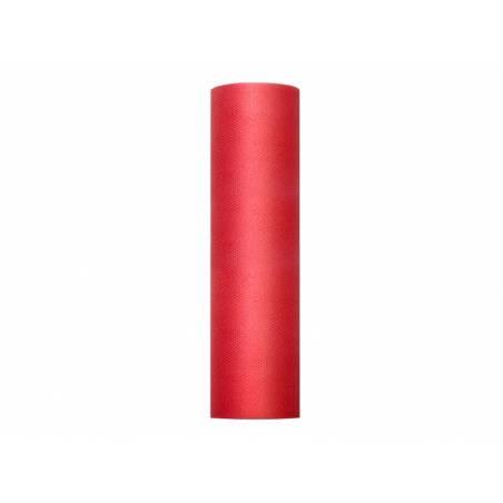 Tulle Uni Rigide rouge 03 x 50m