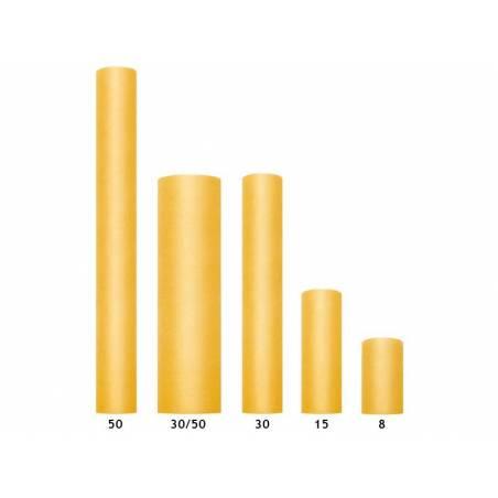 Tulle Uni rigide jaune 03 x 50 m