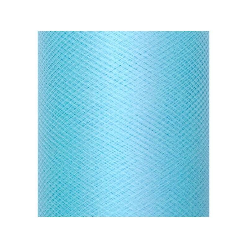 Tulle Plain Stiff turquoise pâle 03 x 50m