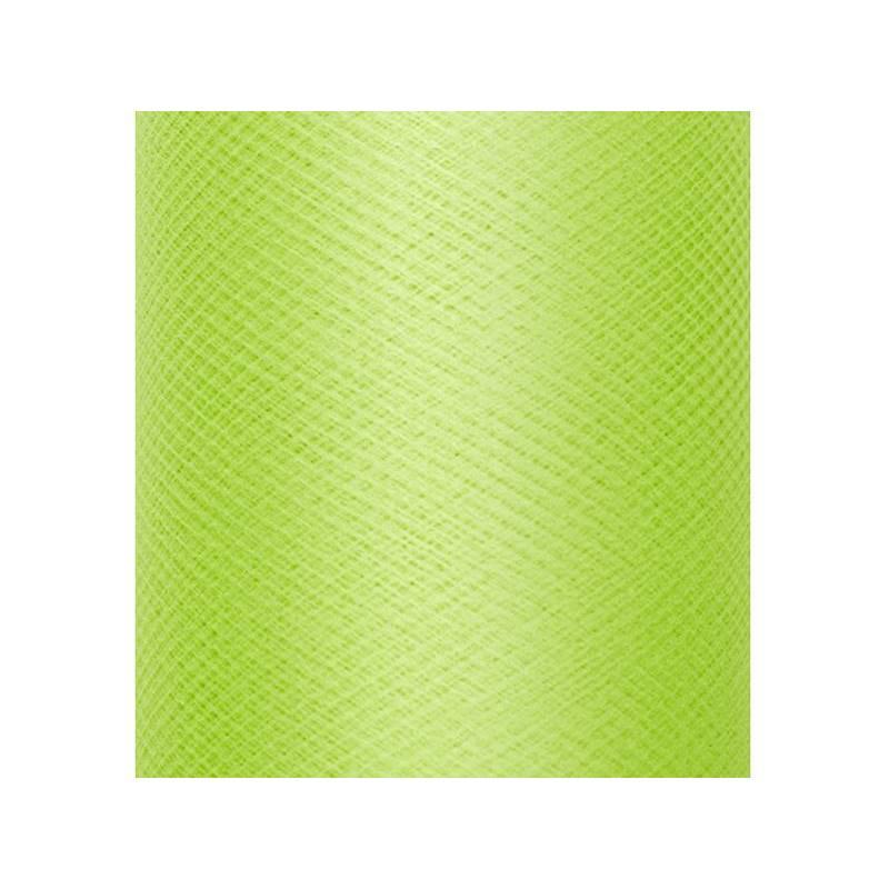 Tulle Uni Raide vert clair 03 x 50m