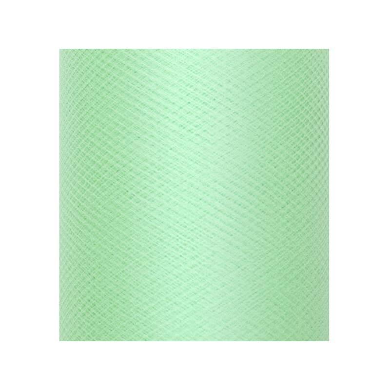 Tulle Plain Stiff menthe 03 x 50m