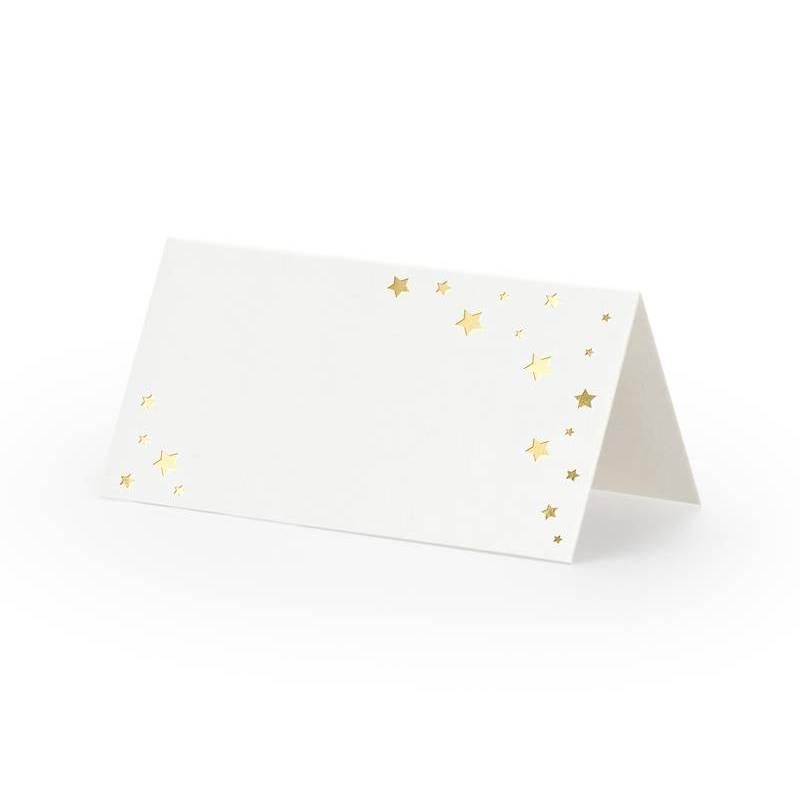 Placez les cartes Let's Celebrate - Étoiles 9.5x5.5cm