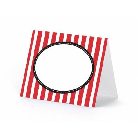 Placez le coeur de carte 8 x 6.5cm mélangez