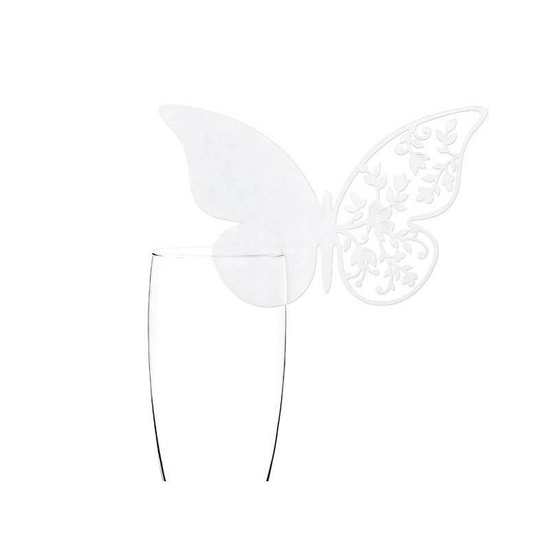Cartes de place Papillon 125 x 76 cm