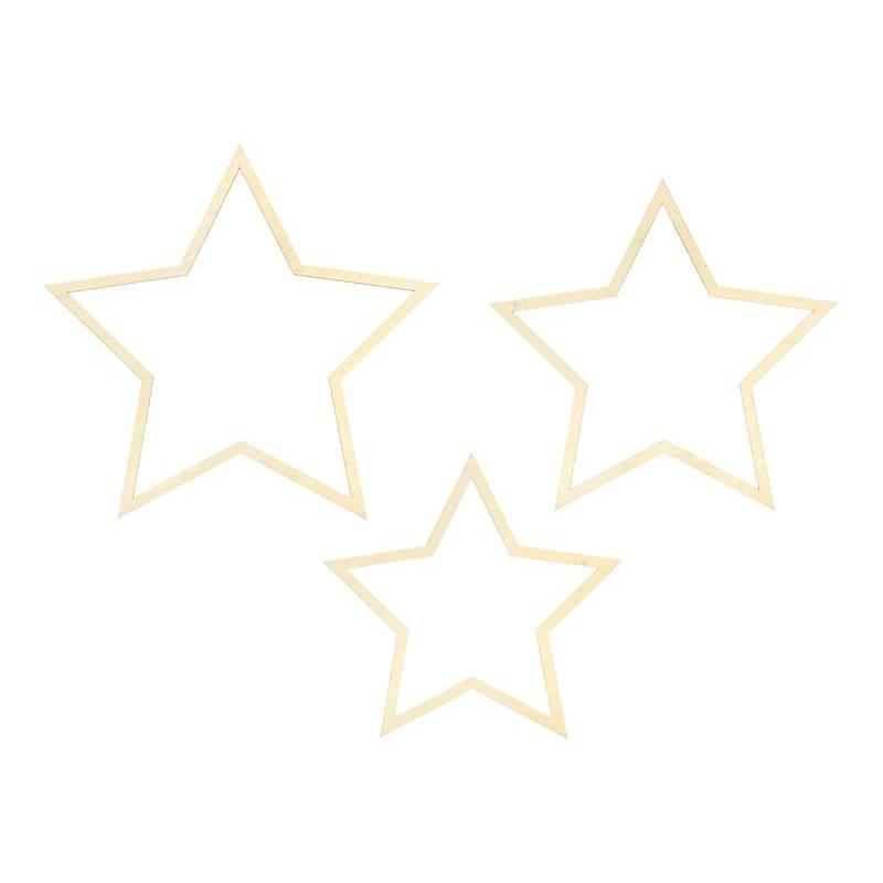 Décorations à suspendre Étoiles mélanger