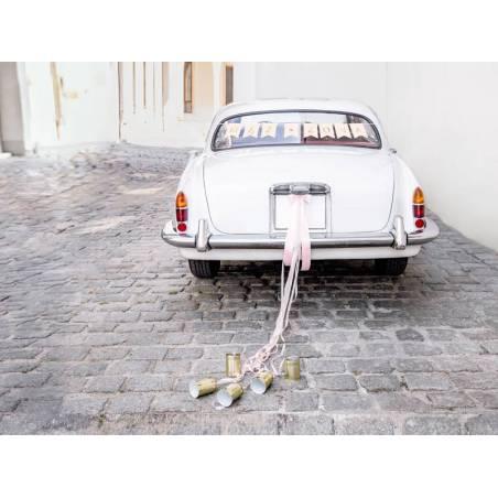 Kit de décoration de voiture - Mąż Żona rose clair
