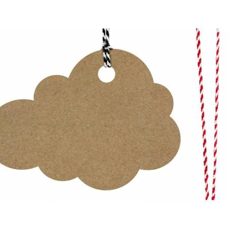 Etiquettes cadeaux Cloud
