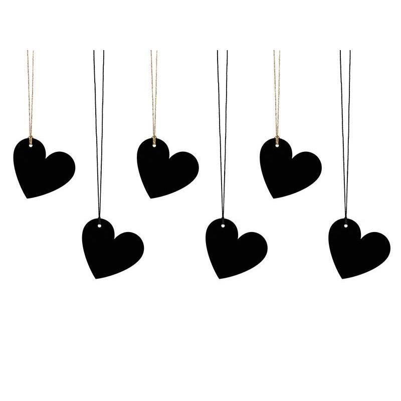 Etiquettes cadeaux Coeur