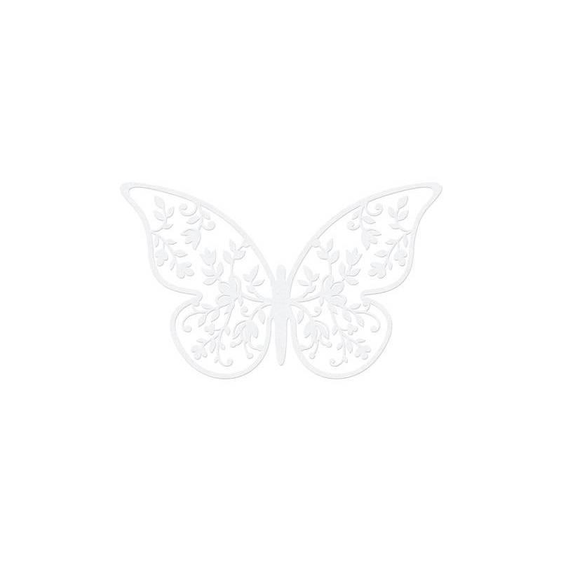 Décorations en papier Papillon 65 x 4 cm