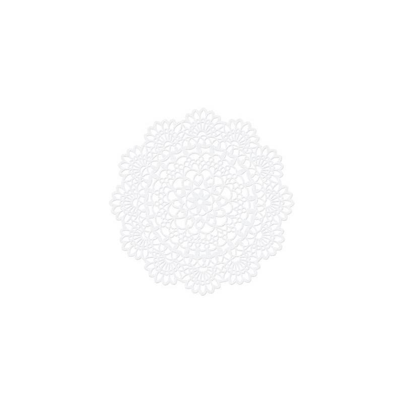 Décorations en papier Rosette 5cm