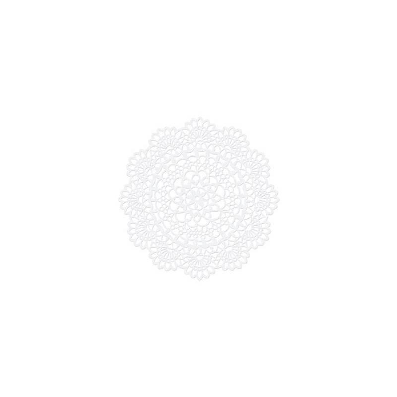 Décorations en papier Rosette 4cm