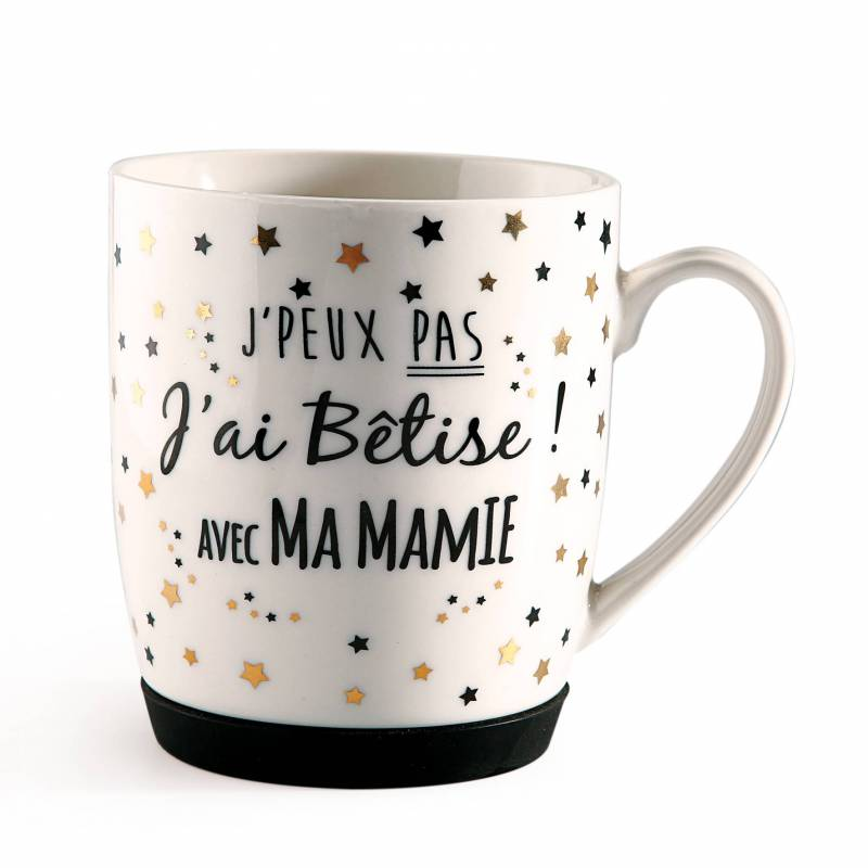 """MUG """"J'ai Bêtise Mamie"""" D8,5H10CM"""