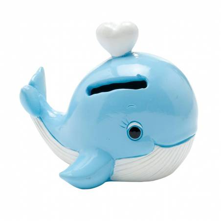 Tirelire Baleine