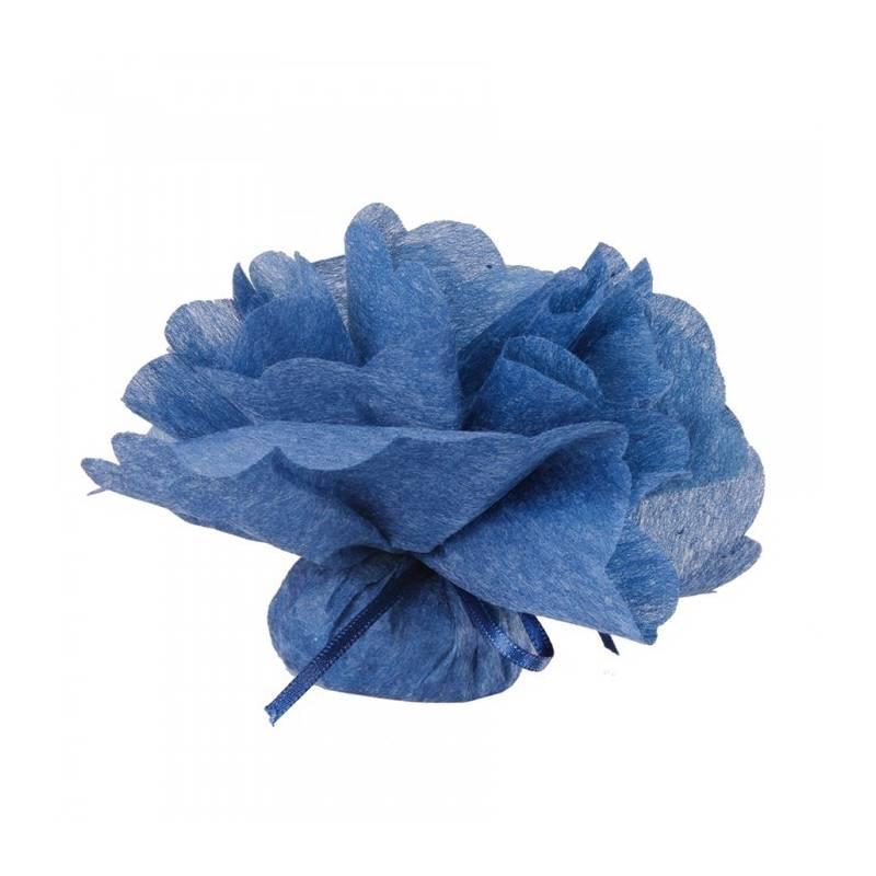 25 Tulles intissés - Couleur bleu jeans
