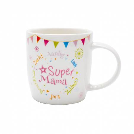 Mug galaxy super mama nl d8,5h9cm