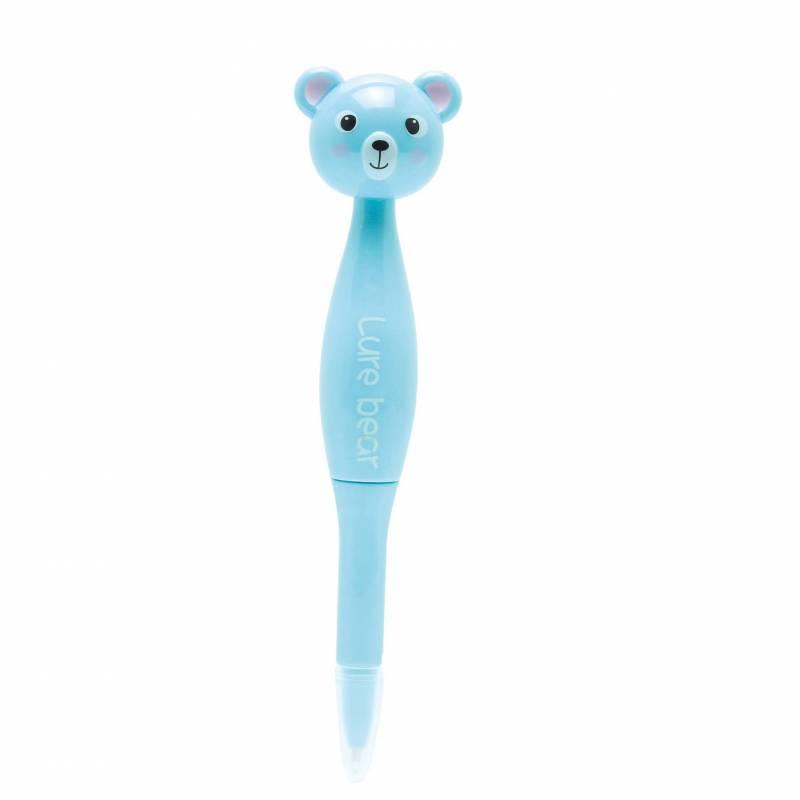 Stylo ourson bleu h14cm prix net