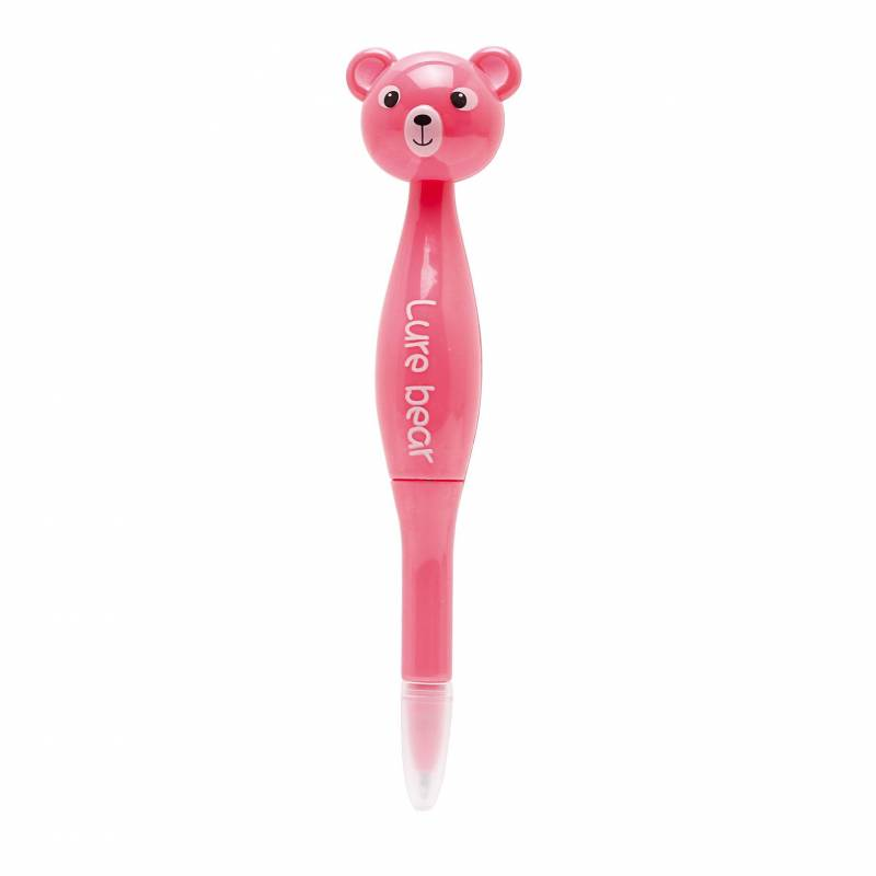 Stylo ourson rose h14cm prix net