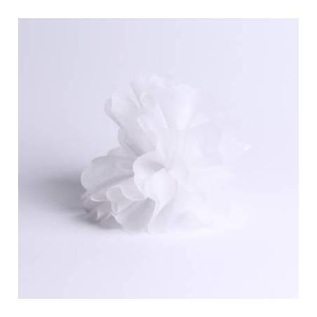 Tulle intisse blanc d23cm