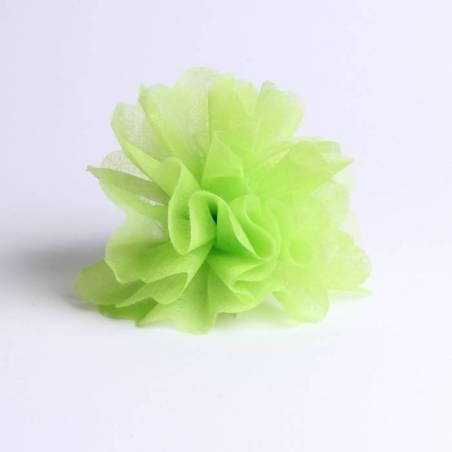 Tulle intisse vert d23cm